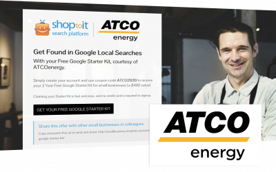 ATCOenergy Joins Shoptoit in Standing Behind Small Businesses